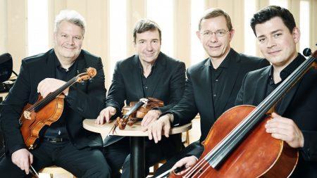 Aperto Piano Quartett<br /> Frank Reinecke (Violine), Stefan Fehlandt (Viola), Jonathan Weigle (Violoncello), Frank-Immo Zichner (Klavier)<br /> 5. Juli 2017